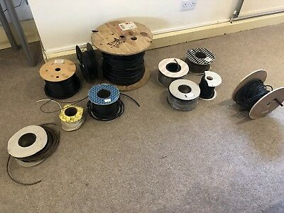 Misc. Drums Of Cable (largely Coax)