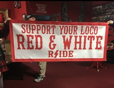 Hells/Hell's Angels R'Side support Vinyl Banners