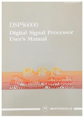 Motorola DSP56000 Digital Signal Processors User's Manual Data Book 1986