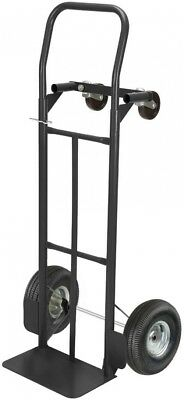 OLYMPIA 600 Lbs. Capacity 2-in-1 Convertible Hand Truck