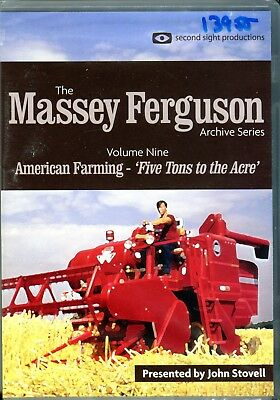 Massey Ferguson Archive Series Vol. 9 DVD American Farming & Five Tons to the Ac