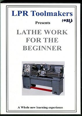 Lathe Work for the Beginner from LPR Toolmakers (DVD)