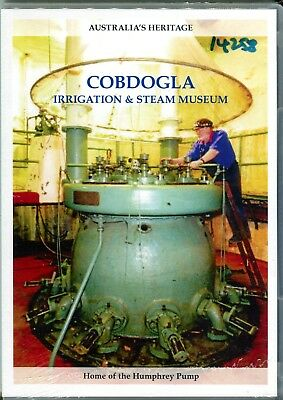 Cobdogla Irrigation & Steam Museum Home of the Humphrey Pump DVD (10 minutes)
