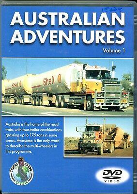 Australian Adventures Volume 1 (trucking DVD)