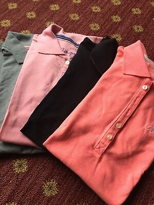 Lot Of 4 Women's Aeropostale New Shortsleeve Stretch XS-S Polos