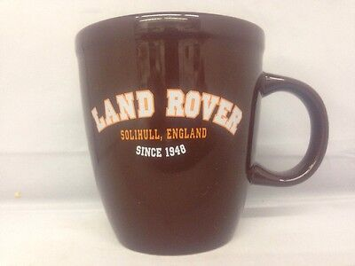 Land Rover Solihull England Brown Mug by M Ware