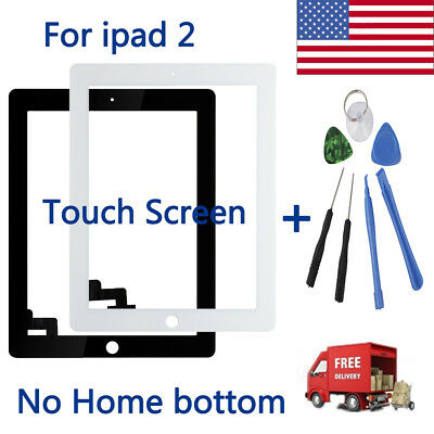 Touch Screen Glass Digitizer Replacement For Apple iPad 2 A1395 A1396 A1397