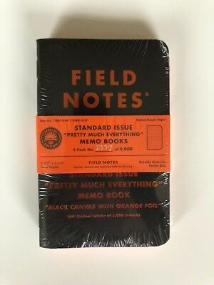 Field Notes Limited Edition Pretty Much Everything