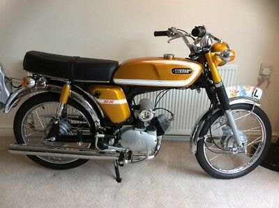 Yamaha FS1e SS, early 1973 Moped,(Motorcycle News Featured) Rare Collectable.