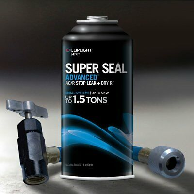Cliplight Super Seal Advanced 947KIT - Permanently Seals & Prevents Leaks in A/C