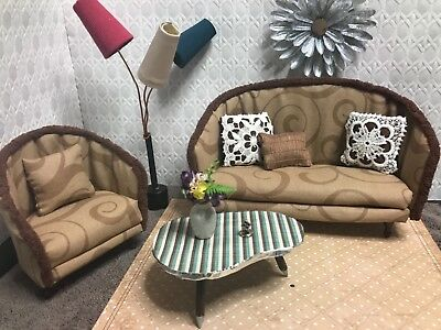 ★dolls@home★Sessel&Couch f Barbie fashion Royalty BJD Blythe 1/6 doll★furniture