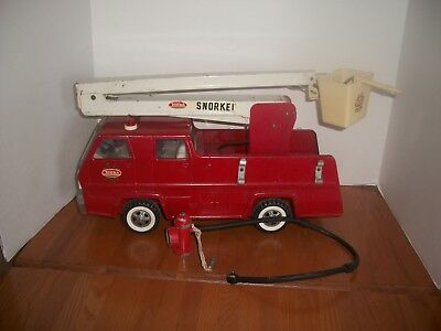 Vintage Tonka Fire Truck with Fire Hydrant Hose