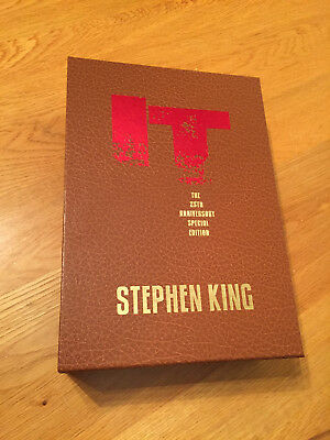 Stephen King - It 25th Anniversary Ediition slipcase (brand new) FREE SHIPPING