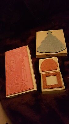 Craft rubber stamp new