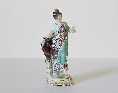 Antique DERBY PORCELAIN FIGURINE Late 18th to early 19th Century England Eagle