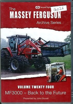 Massey Ferguson Archive Series Vol. 24 DVD, MF3000 'Back' to the Future