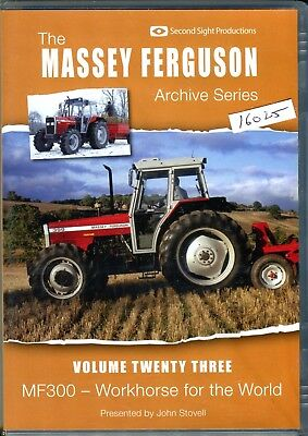 Massey Ferguson Archive Series Vol. 23 DVD, MF300 Workhorse for the World