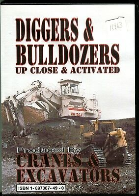 Cranes & Excavators at Work Volume 6 Diggers & Bulldozers DVD Up Close