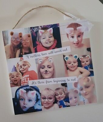 PERSONALISED multi photo collage MOTHER'S DAY Gift/Present - POPULAR
