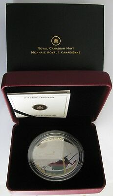 2011 Proof $25 Toronto Map 2oz .9999 silver w/ gold plate Canada