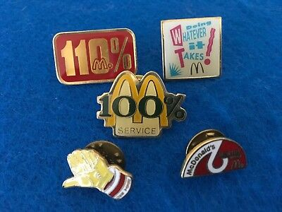 McDonald's Variety of Pins - 5 in Total