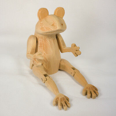 Handcrafted Wood Blank - Frog