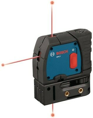 Bosch Laser Level Kit 3-Point Alignment Factory Reconditioned 4- 1/8 Small Tool