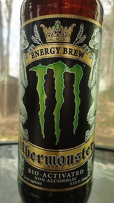 UBERMONSTER Monster Energy Drink GLASS Discontinued Limited Edition