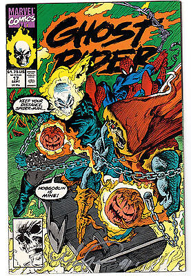 "Ghost Rider Vol. 2 #17 - Marvel  - Autographed by Mark ""Tex"" Texiera  VF/NM"