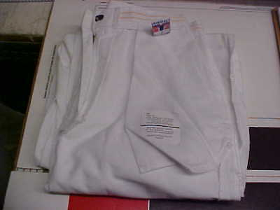 USN Navy Sea Cadet Officer Midshipman INST female Dress White Slacks 6P loc#w19