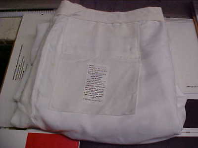 USN Navy Sea Cadet Enlisted Male Dress White Trousers 42XL Bell Bottoms loc#w21
