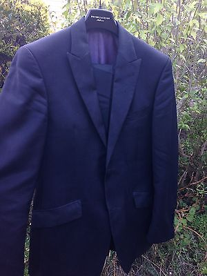 Peter Jackson Mens Suit Wool Blend Size Small