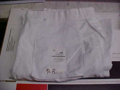 USN Navy Sea Cadet Enlisted Male Dress White Trousers Bell Bottoms 42R loc#w46
