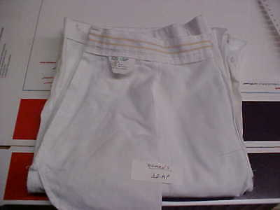 USN Navy Sea Cadet Enlisted Female Dress White Slacks Bell Bottoms 12MP loc#w63