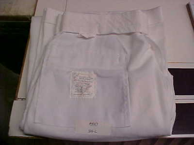 USN Navy Sea Cadet Enlisted Male Dress White Trousers Bell Bottoms 34L loc#w78
