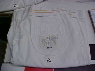 USN Navy Sea Cadet Enlisted Female Dress White Slacks Bell Bottoms 20L loc#w82