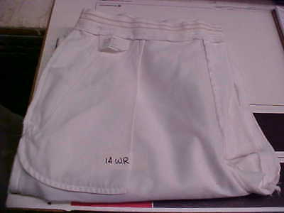 USN Navy Sea Cadet Enlisted Female Dress White Slacks Bell Bottoms 14WR loc#w84