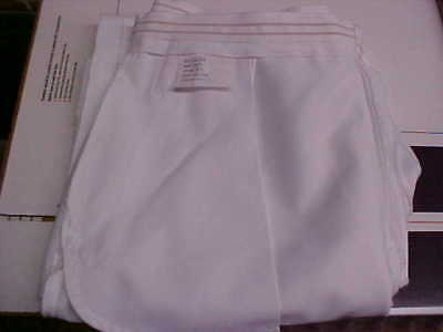 USN Navy Sea Cadet Enlisted Female Dress White Slacks Bell Bottoms 14JR loc#w85
