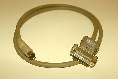 Commodore Amiga Monitor Cable RGB 23 pin to 6 pin DIN
