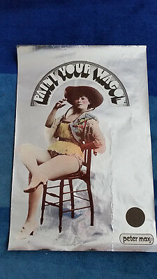 Vintage Peter Max 'Paint Your Wagon' western film, Marvin/Eastwood poster 1
