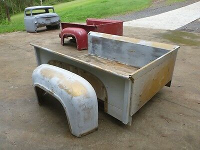 1953-56 Ford F100 Pickup Bed complete original, Fenders cheap Ford F1 ute nice