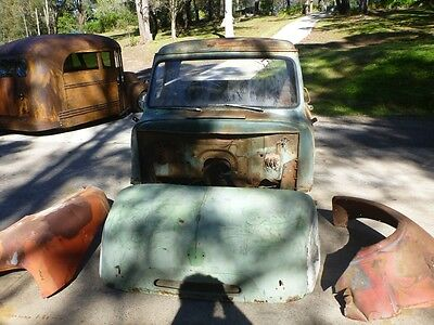 1953 Ford COE cabover rare patina suit Ford F100 F1 chevy hotrod ute builder