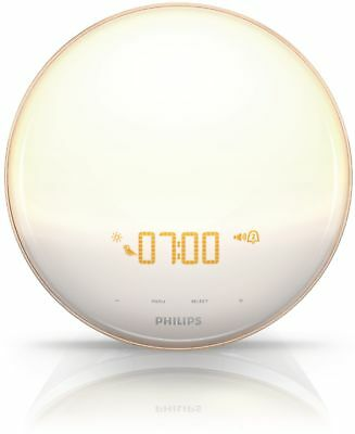 Philips ($25 Rebate Available) Wake-Up Light Therapy With Colored Sunrise Alarm