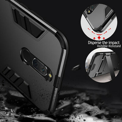 For Huawei Mate 10 Lite Nova2i Matte Hybrid Kickstand Shockproof Hard Cover Case