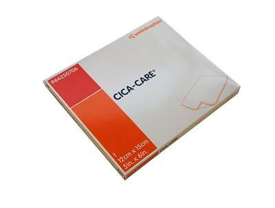 "CICA-CARE Silicone Gel Sheet, 5"" x 6"" FOR SCARS 66250706 (66250707) REUSABLE!"