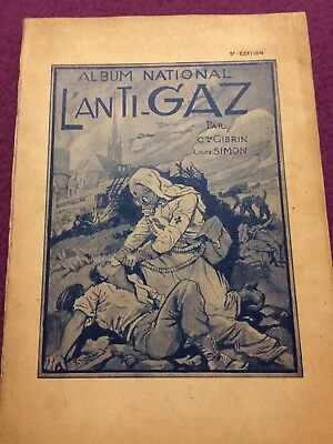 Album National L'anti-gaz . Par C. Gibrin Und Louis Simon Von 1933