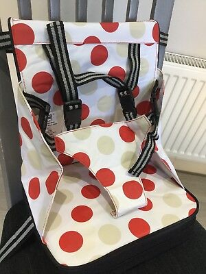Polar Bear Baby Travel Booster Seat - Used Once, Excellent Condition