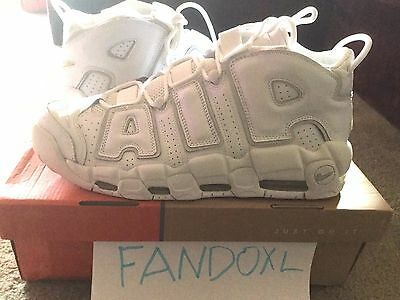 NIKE Air More UpTempo 11.5 2006 BRAND NEW DS w  Box Pippen White Grey 312971 534363487