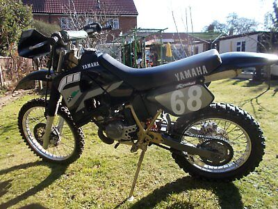 Yamaha DT 125 R YPVS for off road use only.