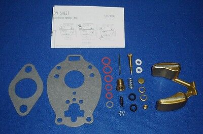 Fits Lincoln Welder Sa-200 Redface Shorthood MARVEL SCHEBLER TSX Carburetor Kit